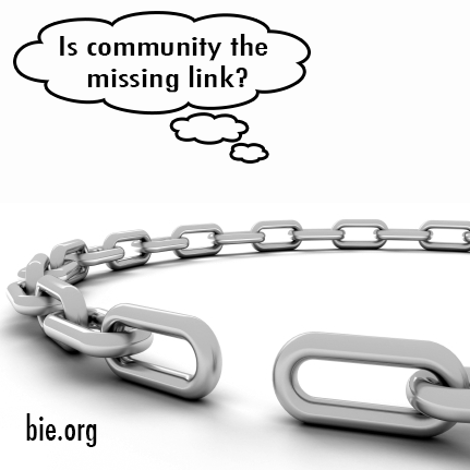Link with community for successful PBL. Photo credit: bie.org.