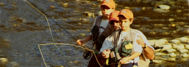 Caption: S.A.R.E.P. / 4H Youth Fly Fishing Program was started eighteen years ago, providing a positive life-long activity for inner city youth and developing their appreciation for our local water resources. Photo credit: Children In The Stream.
